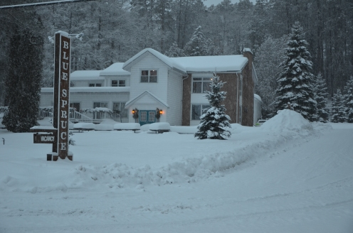 Blue Spruce Resort, Main Entrance