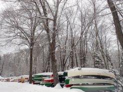 Slumbering canoes
