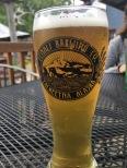 Pints at the Denali Brew Pub in Talkeetna